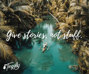 Give stories, not stuff.